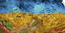 Wall Decal entitled Wheatfield With Crows, 1890