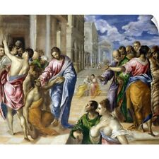 Wall Decal entitled Christ Healing the Blind