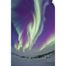 Wall Decal entitled The Northern Lights in Churchill, Manitoba, Canada
