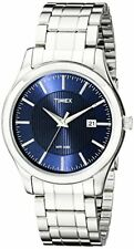 Timex Mens 9J Elevated Classics Stainless Steel Bracelet Watch- Pick SZ/Color.