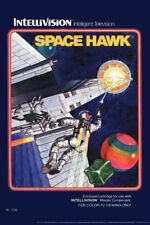 102956 Space Hawk Intellivision Box Art Video Gaming Decor WALL PRINT POSTER AU