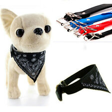 Vouge Adjustable Pet Dog Puppy Cat Neck Scarf Bandana with Collar Neckerchief B4