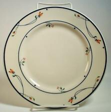1 Salad Plate GORHAM Ariana Town And Country Amber Flowers Blue Band Retired