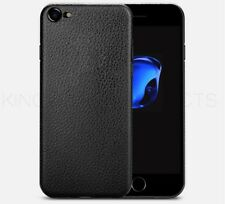 For Apple iPhone X/8/7 Plus Texture Ultra-Thin Slim Case Protective Cover Black