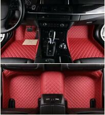Fit  Audi Q3 Q5 Q7 S3 S5 S6 S7 S8 SQ5 R8 TT RS-4567luxury custom Car Floor Mats