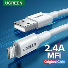 Ugreen Lightning Cable USB Data Sync Charging Cable For iPhone X 8 7 6 iPad iPod