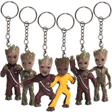 """Guardians of the Galaxy Vol.2 Baby Groot 3"""" Key Chain Figure Statue Gift Toy"""