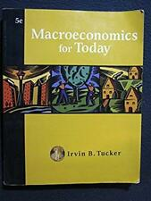 Macroeconomics for Today (Available Titles CengageNOW) [Jan 08, 2007] Tucker, ..