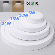 6-24W Surface Mounted LED Panel Light Square Round Ceiling Downlight Wall Lamp