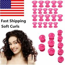 Magic Hair Curls Roller Curler No Clip Silicone Soft Professional Tool For Women