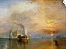Wall Decal entitled The Fighting Temeraire Tugged to her Last Berth to be Broken