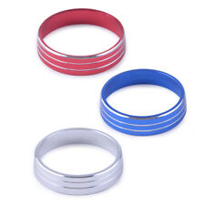 A/C Heater Climate Control Button Knobs Cover Trim Ring For Lancer Outlander