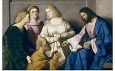 Poster Print Wall Art entitled Christ Giving the Keys to Saint Peter by Vincenzo