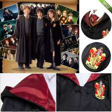 Harry Potter Cosplay Cloak Gryffindor Slytherin Hufflepuff Ravenclaw Robe Adults
