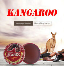 Korean KANGAROO shoe polish 40g Black/dark brown/light brown/colorless