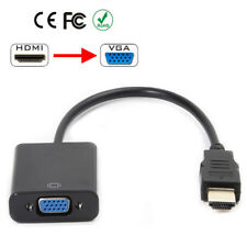 1080P HDMI Male to VGA Female Video Cable Cord Converter Adapter For PC HDTV New