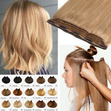 Invisible One Piece 5CLips 3/4 Full Head Clip in Real Human Remy Hair Extensions