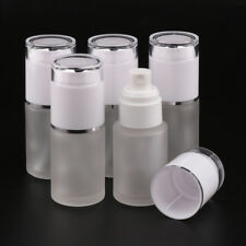 5 PCS 30ml Travel Cosmetic Bottle Empty Spray Bottle Glass Pump Container
