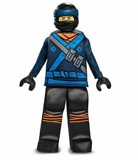 Lego Ninjago Jay Child Costume Prestige Boys Minifigure Blue Ninja Warrior