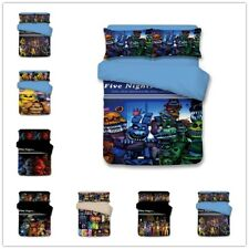 3D Five Nights at Freddy's Bedding Set Duvet Cover Quilt Pillowcases Cover