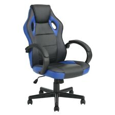 Racing Style Leather Gaming Chair Ergonomic Swivel Computer Office  Recliner