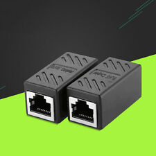 RJ45 CAT6 Coupler Network Cable Joiner Ethernet LAN Straight Adapter Connector