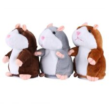 Cute Talking Hamster Plush Toy Speaking Sound Record Repeat Toy Gift For Kids US