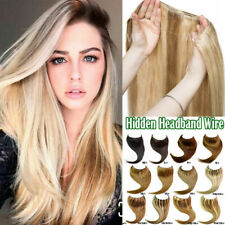 Sweetie One Piece Secret Wire Headband No Clip in Human Remy Hair Extensions US