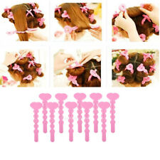 10pcs No Leverage Curlers Formers Spiral Styling Rollers Magic Hair Curlers