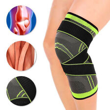 Knee Sleeve Compression Brace Patella Support Stabilizer Sports Gym Pain Relief