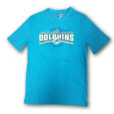 """Miami Dolphins NFL Men's Turquoise Short Sleeve T-shirt """"National Football"""""""