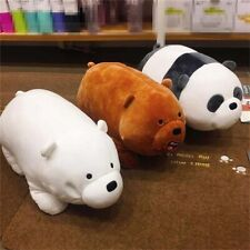 We Bare Bears Ice Bear Plush Toys Cute Stuffed Doll Soft Pillow Kids Gifts