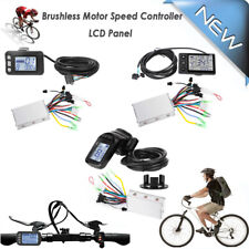 24-48V EBike LCD Display Panel Electric Bicycle Scooter Brushless Controller Set