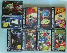 Sega Saturn Memory Card + 7 Complete Games - Pal - Acclaim - Ubisoft - Virgin  -