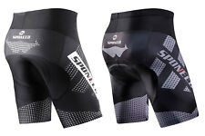 Cycling Shorts Padded Men Stretchy Biking Pants Bicycle Tights Moisture Wicking