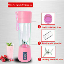 400ml USB Mini Electric Fruit Juicer Handheld Smoothie Maker Blender Juice Cup