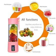 380ML Portable USB Electric Juicer Cup Bottle Fruit Blender Mixer Rechargeable