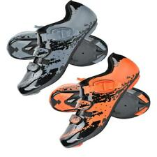 Boodun Cycling Shoes SPD-SL System Road Bike Shoes Auto-Lock Self-locking Shoes