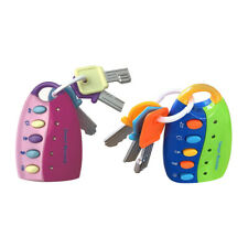 Baby Toy Smart Remote Car Key Music Sounds Kids Toddler Pretend Play Gift