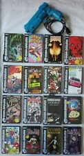 Sega Saturn 16 Games- Pal- Acclaim - Ubisoft -Virgin - Midway - Capcom - LighGun