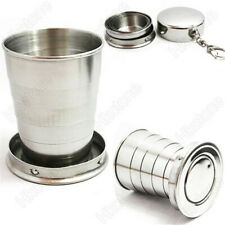 Stainless Steel Portable Mini Travel Folding Collapsible Cup Telescopic. Outdoor