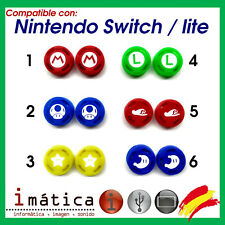 X2 Units Grips Joystick For Nintendo Switch/Switch Lite Rubber Super Mario