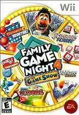 Family Game Night 4: The Game Show (Nintendo Wii, 2011)