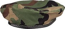 Woodland Camouflage Rip-Stop Army Beret