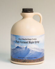 1 Half Gallon Pure Vermont Maple Syrup- Choice Grade
