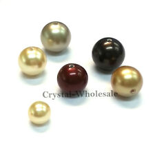 50 Swarovski 5810 Crystal Pearls Round Beads 8mm - 30 colors