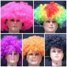 Halloween New Colorful Afro Curly Wig Unisex Costume