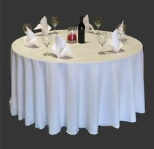25 Pack 108 Inch Round Polyester Tablecloths 25 Colors