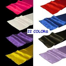 "40 Pack of 12"" x 108"" Satin Table Runners - 22 Colors!"