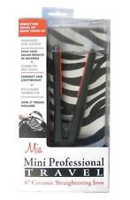 "6"" Mini Professional Travel Straightening Iron by Mia®"